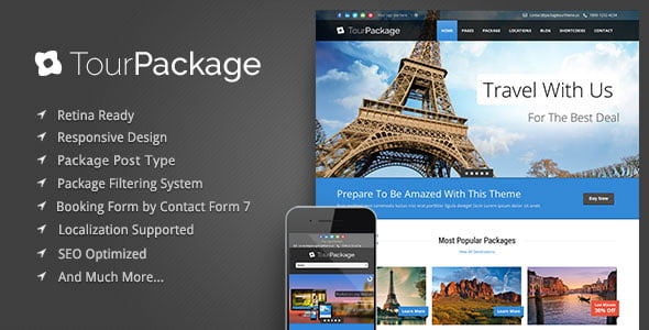 template website travel